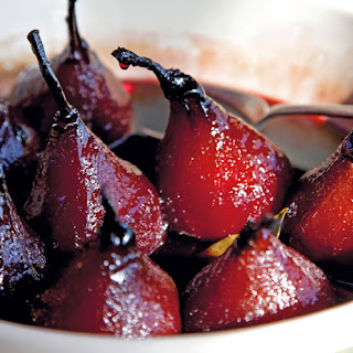 Ruby Roasted Pears
