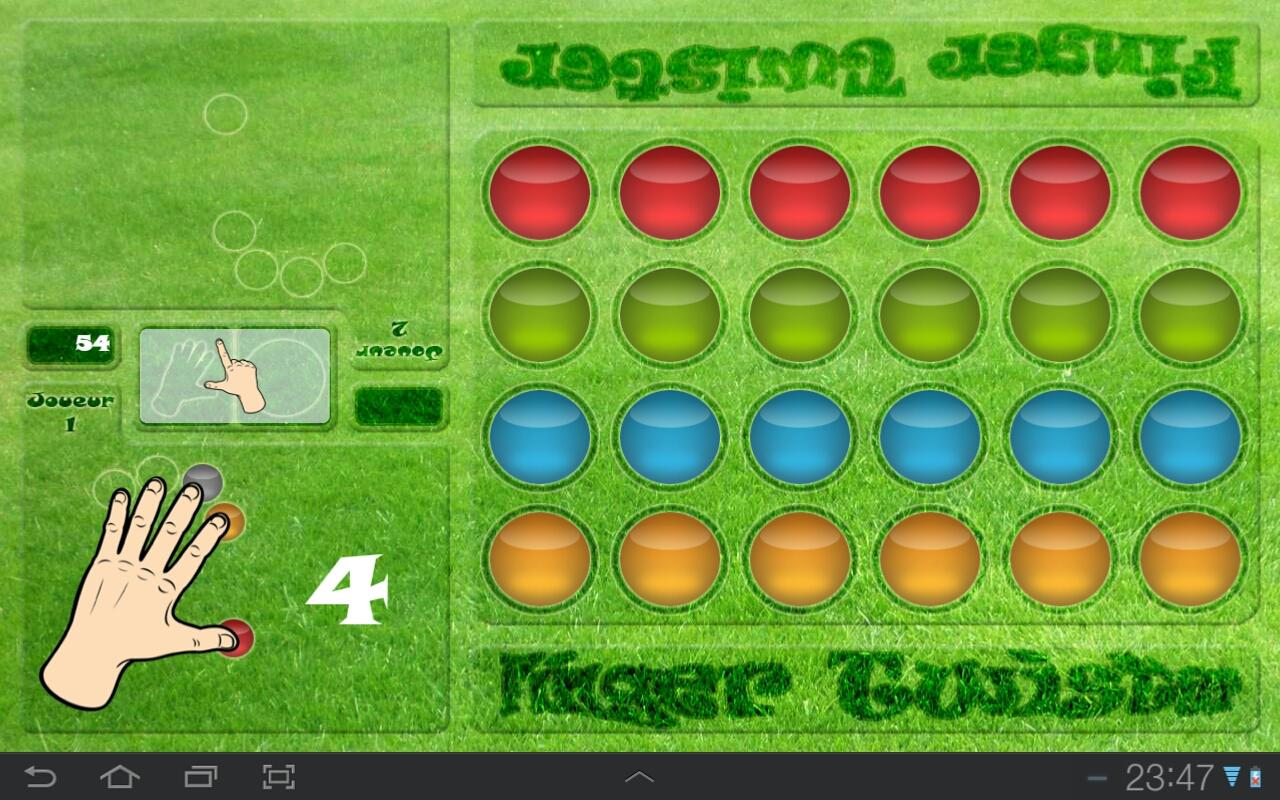 Finger Twister - screenshot