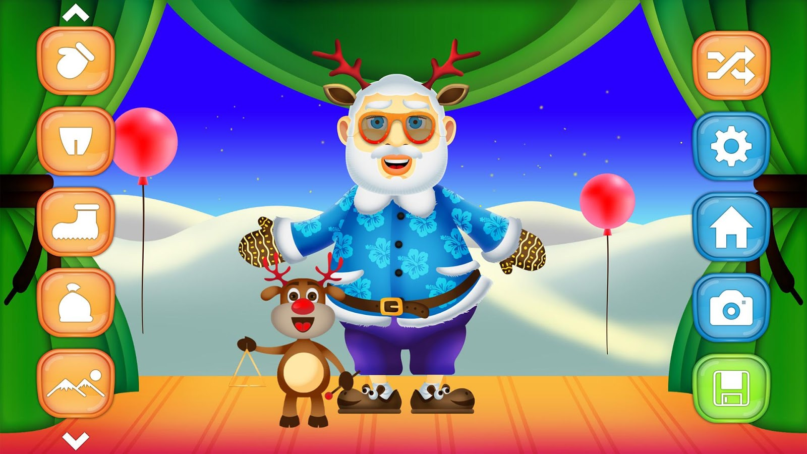 Santa dress up christmas games android apps on google play
