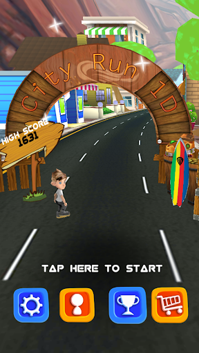 Cartoon City Run 1D