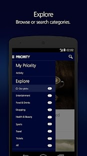 o2 priority android apps on google play. Black Bedroom Furniture Sets. Home Design Ideas