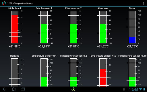 USB Temperatur Anzeige und Log