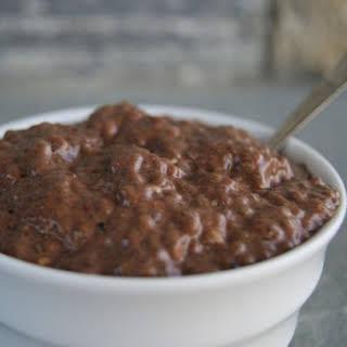 Chocolate Chia Pudding.