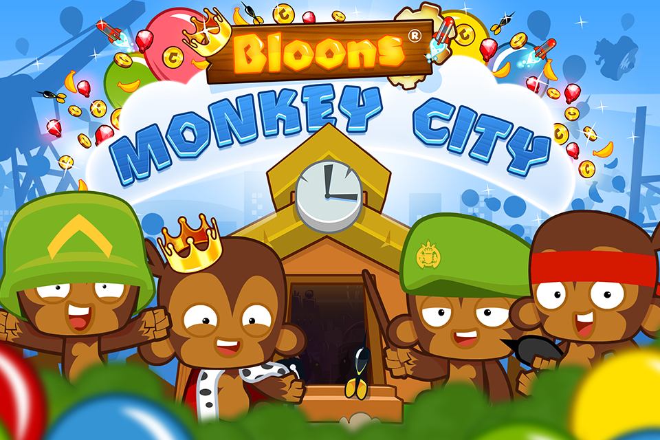 #5. Bloons Monkey City (Android)