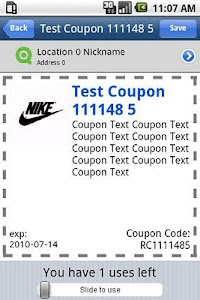SavingsInOC Coupon App screenshot 1