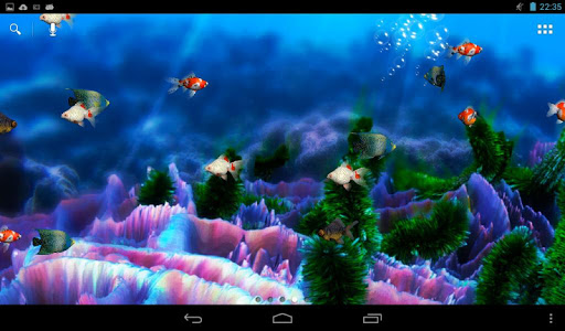 Aquarium Live Wallpaper screenshot 4