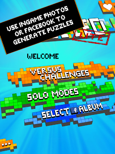 Puzzled Lite - Infinite Puzzle Screenshot 1