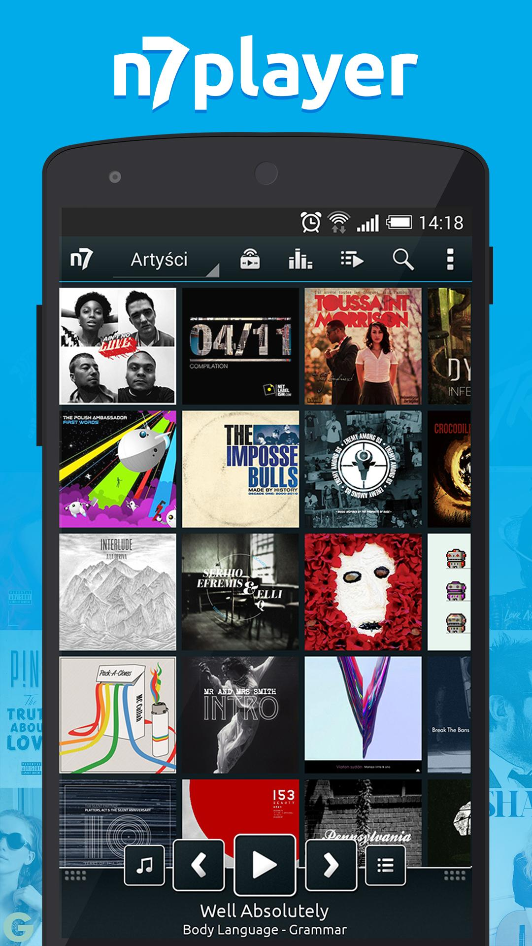 n7player Music Player image #1