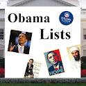 President Obama Lists