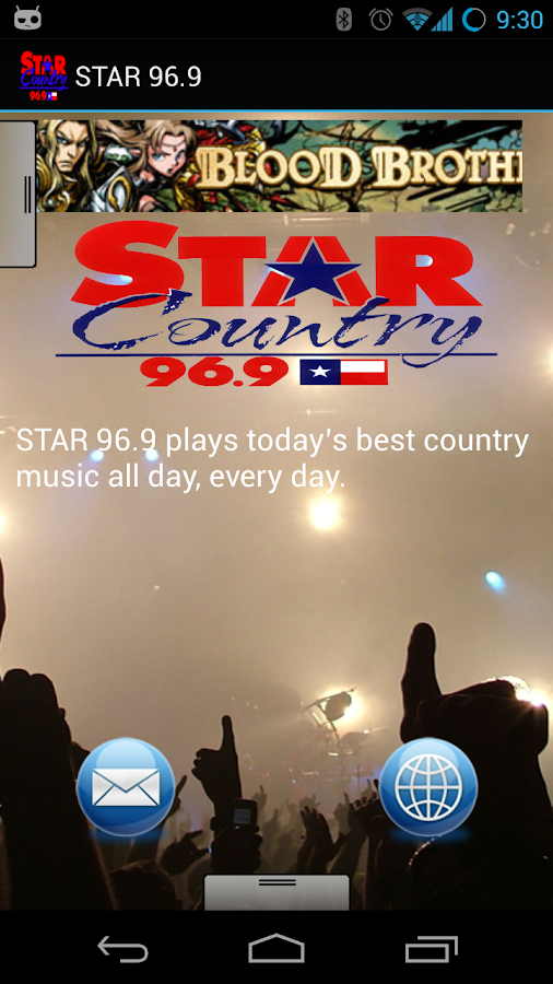 STAR 96.9 - screenshot