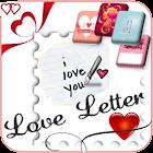 Tarjetas y cartas de amor icon