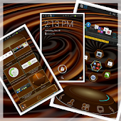 Choco  Next Launcher 3D theme