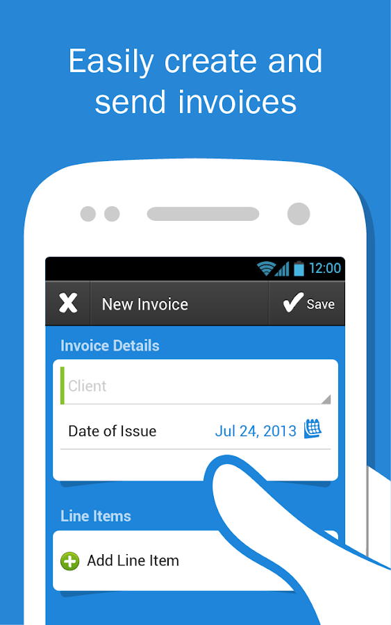 FreshBooks- Invoice+Accounting - screenshot