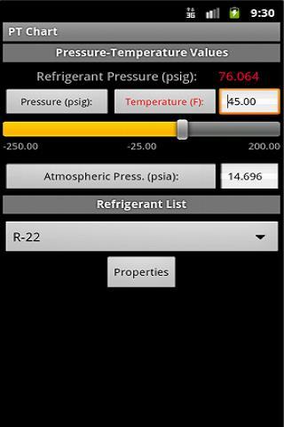 HVAC PT Chart- screenshot