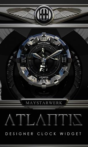 Clock Widget Atlantis