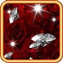 Rose Diamond 3d Live Wallpaper icon