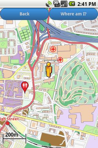 Glasgow Amenities Map