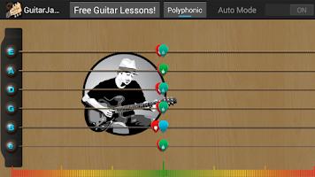 Screenshot of Guitar Jamz Polyphonic Tuner