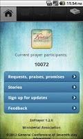 Screenshot of InPrayer 1.2.0