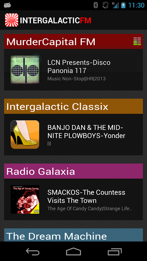 Intergalactic FM - screenshot