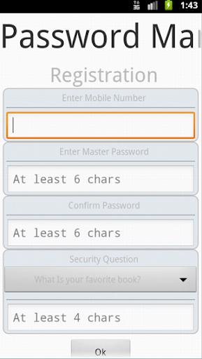 PasswordManager Lite