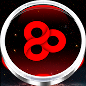 Red Nova Go Launcher Theme