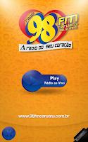 Screenshot of Rádio 98 FM Caruaru