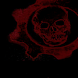 Skull of  Red Live Wallpaper