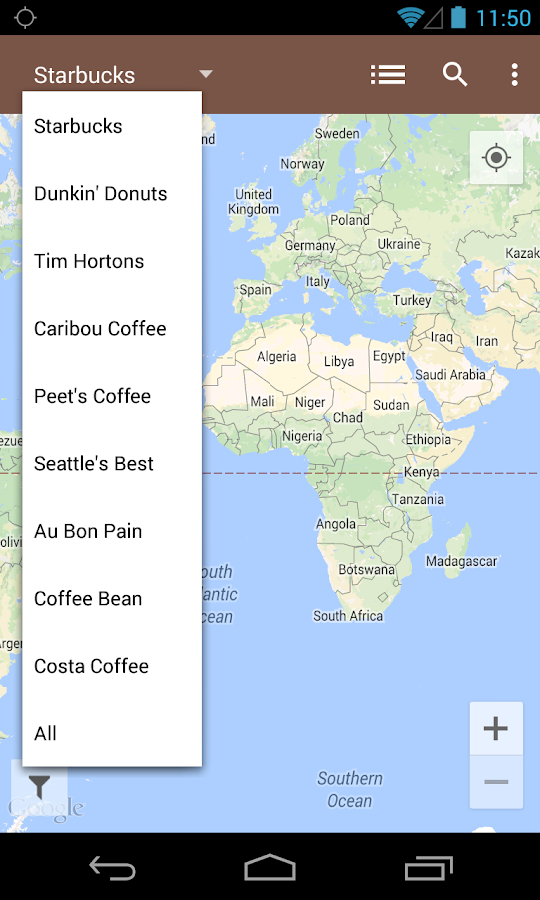 Coffee Finder Pro- screenshot