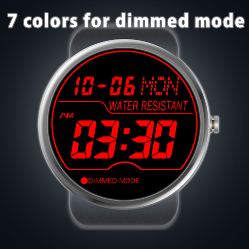 A06 Watchface for Moto 360- screenshot