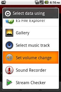 Volume Changer for TaskBomb- screenshot thumbnail