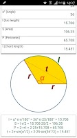 Screenshot of Math & geometry (MathX)
