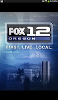 Screenshot of FOX12 Oregon