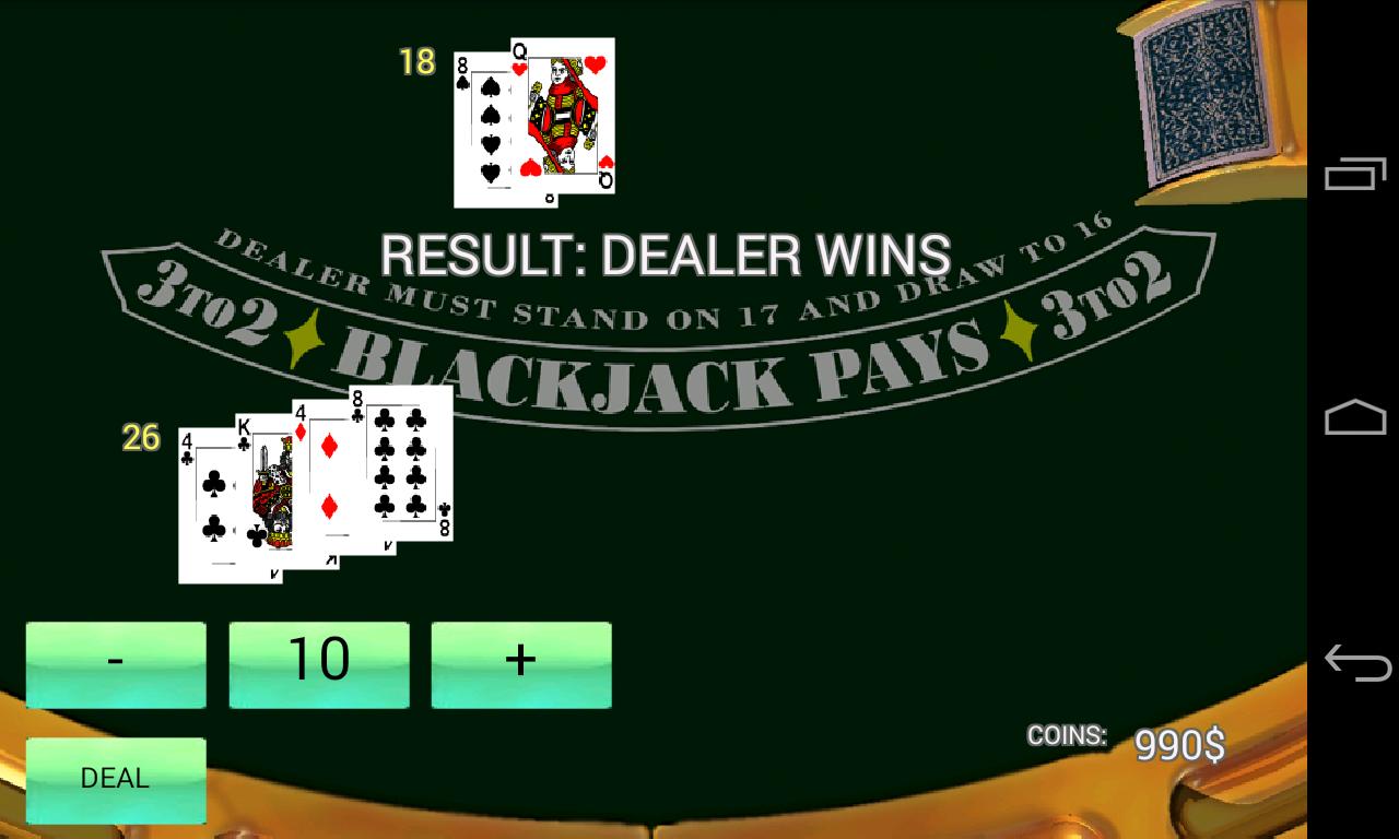 Black Jack Simulator