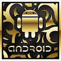 Gold Droid PRO GO Launcher EX logo
