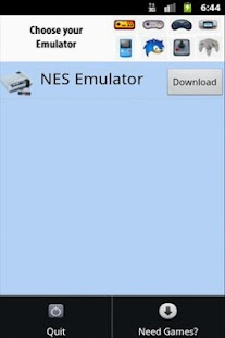 Emulator Player xNES - screenshot thumbnail