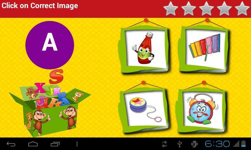 Kids Learn ABC Train - screenshot