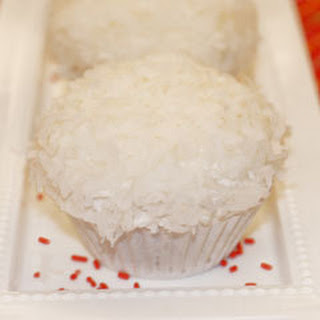 Snowball Cupcakes.