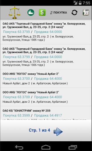 Курс валют в Москве и Питере