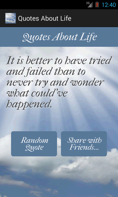 Quotes About Life- screenshot
