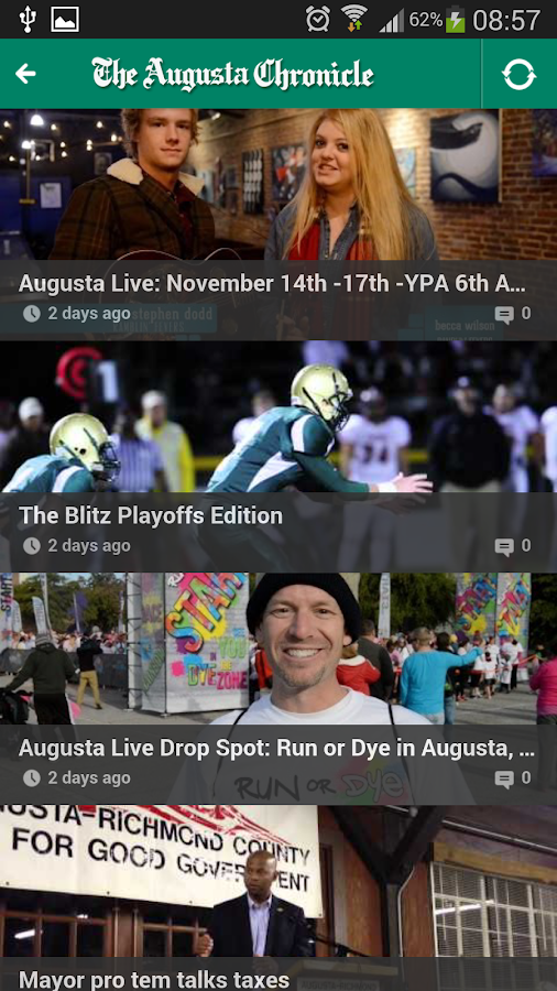 The Augusta Chronicle Mobile - screenshot