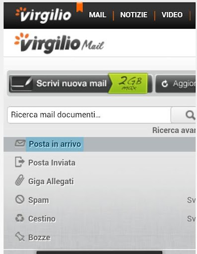 virgilio alice mail gratis massaggio e sesso