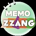 memozzang (note, diary) logo