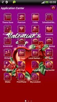 Screenshot of Valentines day 2 GO SMS theme