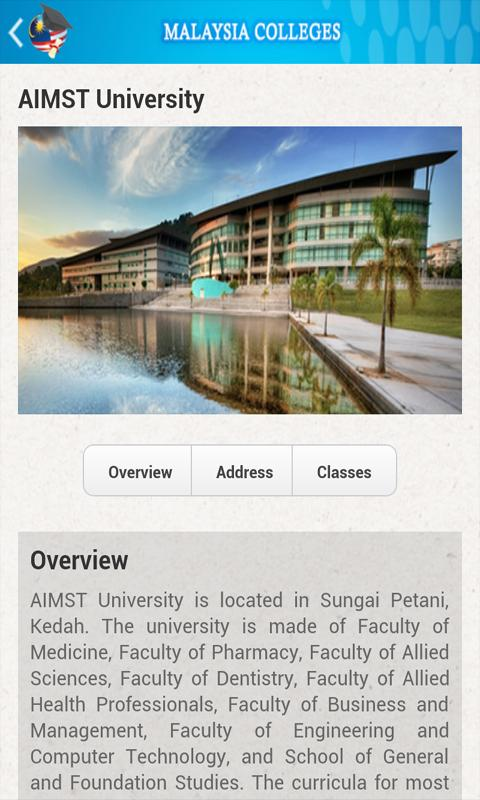 Malaysia Colleges- screenshot