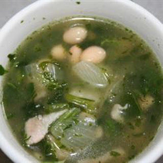Cuban Haricot Bean Soup