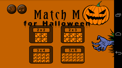 Match M for Halloween