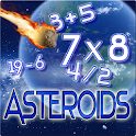 Cosmic Core Math Asteroids icon