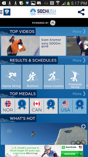 NBC Olympics Highlights
