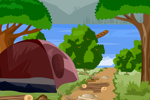 Forest Camp Escape- screenshot